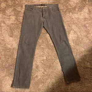 Zara man straight leg fly button jeans size 34